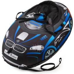 Sanki_Vatrushka_Tubing_Small_Rider_Snow_Cars_BW_Black_Blue